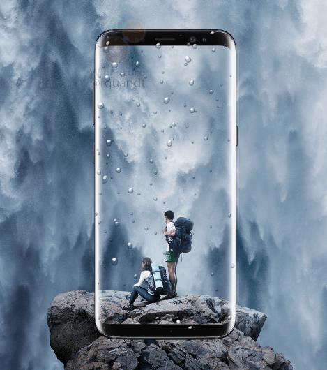galaxy-s8-waterdicht Samsung Galaxy S8 (Plus) in zijn geheel uitgelekt