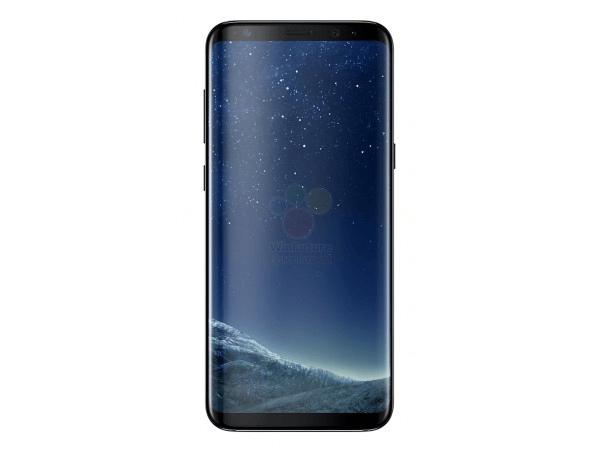 galaxy-s8-zwart-voor Samsung Galaxy S8 (Plus) in zijn geheel uitgelekt