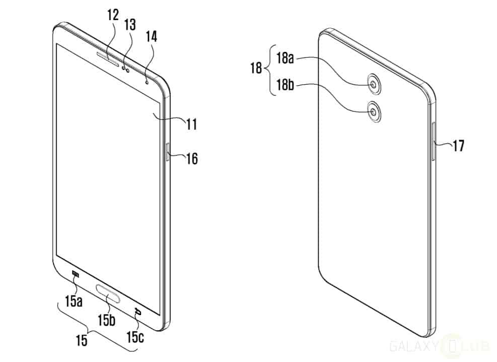 samsung-patent-dual-lens-camera-module-1 Samsung patenteert eigen dual camera module, wil lens dunner en lichtgevoeliger maken