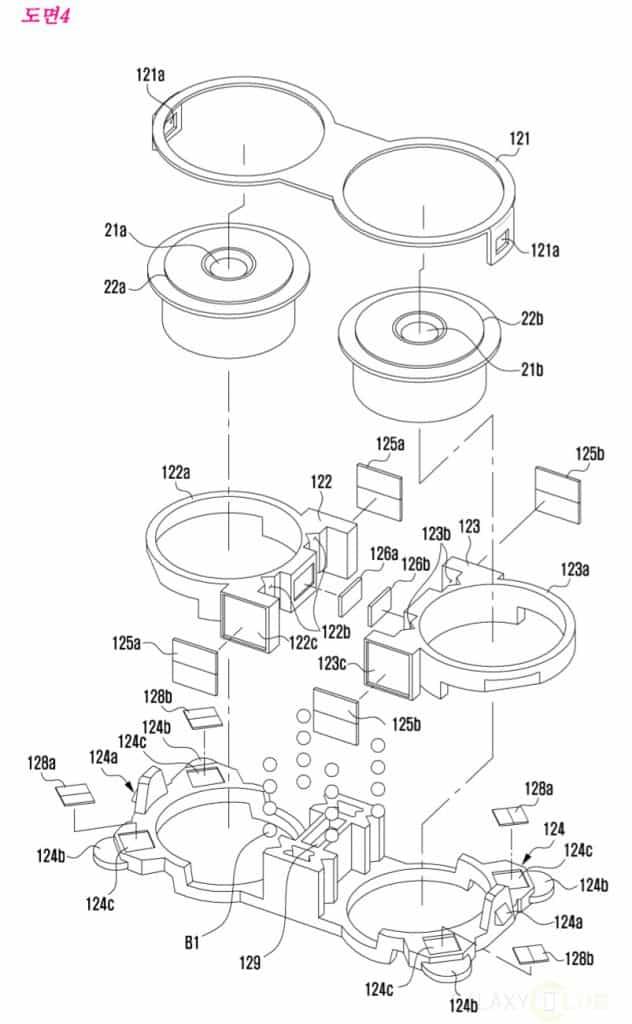 samsung-patent-dual-lens-camera-module-2-632x1024 Samsung patenteert eigen dual camera module, wil lens dunner en lichtgevoeliger maken