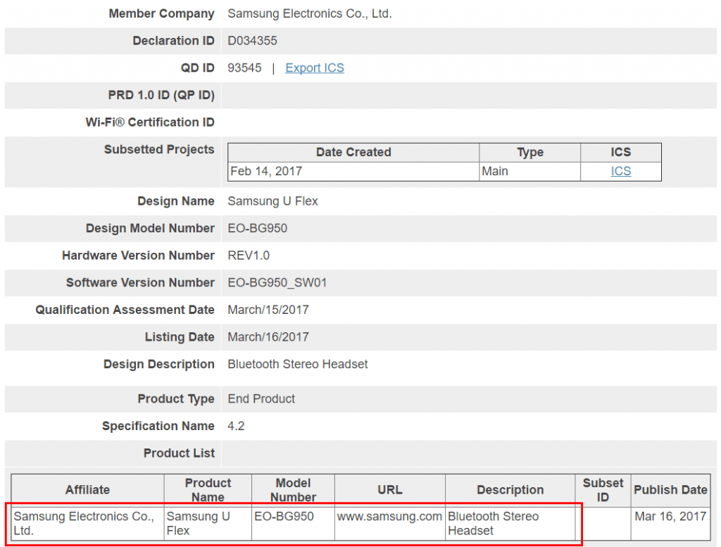 samsung-u-flex-eo-bg950-1024x777 Certificatie bevestigt: Samsung U Flex is de nieuwe draadloze headset voor de Galaxy S8