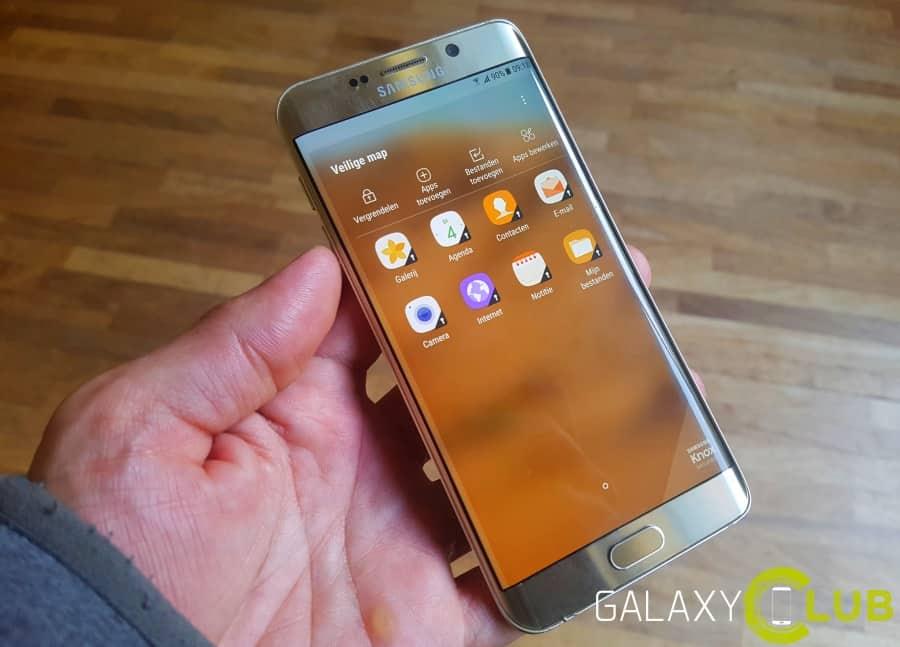 galaxy-s6-edge-plus-secure-folder-veilige-map Galaxy S6 (Edge, Plus) met Android Nougat tip: Veilige map (secure folder)