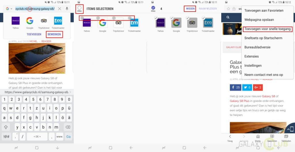 galaxy-s8-plus-browser-snelkoppelingen-verwijderen-instellen-1024x527 Galaxy S8 (Plus) browser tip: startpagina en eigen snelkoppelingen instellen