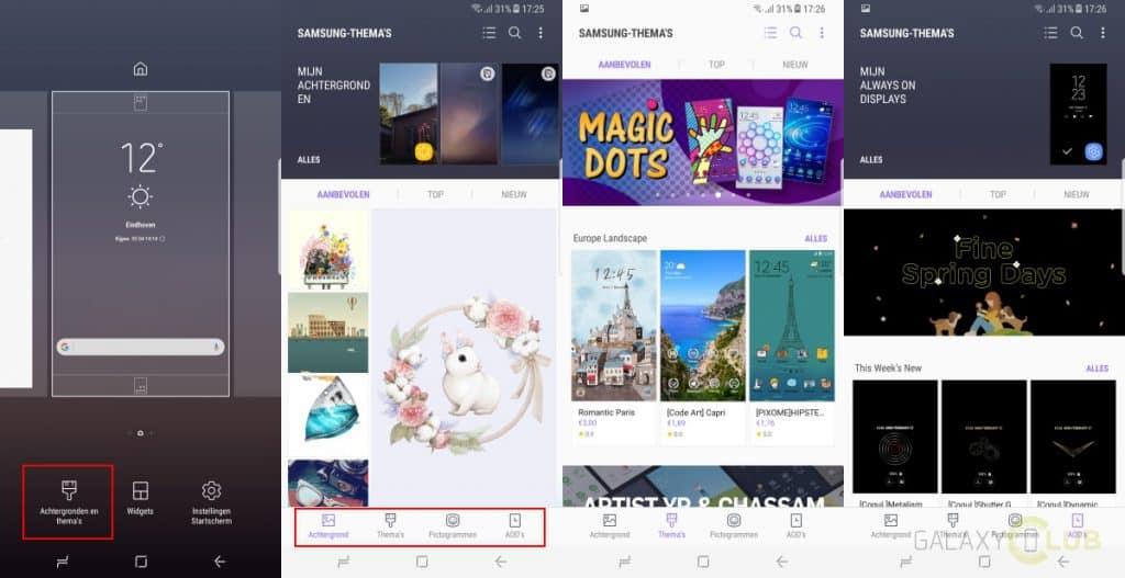 galaxy-s8-plus-tip-samsung-themas-1024x527 Galaxy S8 en Galaxy S8 Plus tips en trucs voor een goede start