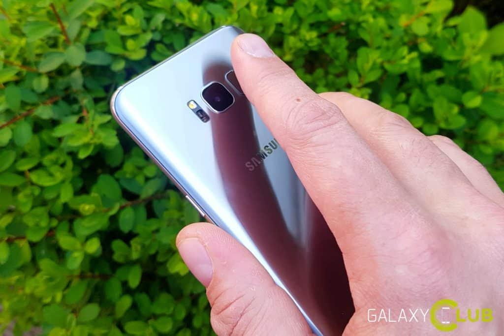 Samsung Galaxy S8 review vingerafdrukscanner