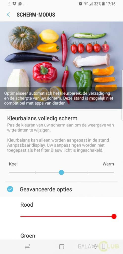 galaxy-s8-plus-update-fix-rood-scherm-2-498x1024 Samsung rolt update met fix voor rode schermtint Galaxy S8 (Plus) uit - update: nu in Nederland (unbranded en Vodafone)