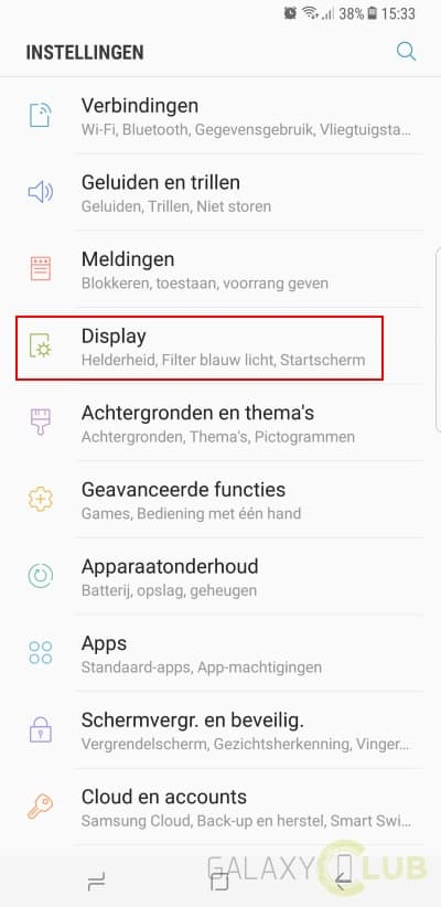 galaxy-s8-tip-navigatiebalk-aanpassen-kleur-toetsen Galaxy S8 (Plus) tip: kleur en volgorde navigatietoetsen aanpassen