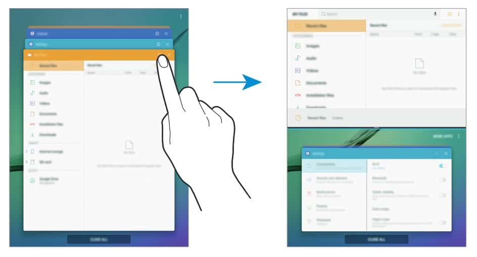 galaxy-tab-s2-android-nougat-grace-ux-2 Galaxy Tab S2 begint ook aan Android 7.0 Nougat update - in Duitsland en Italië