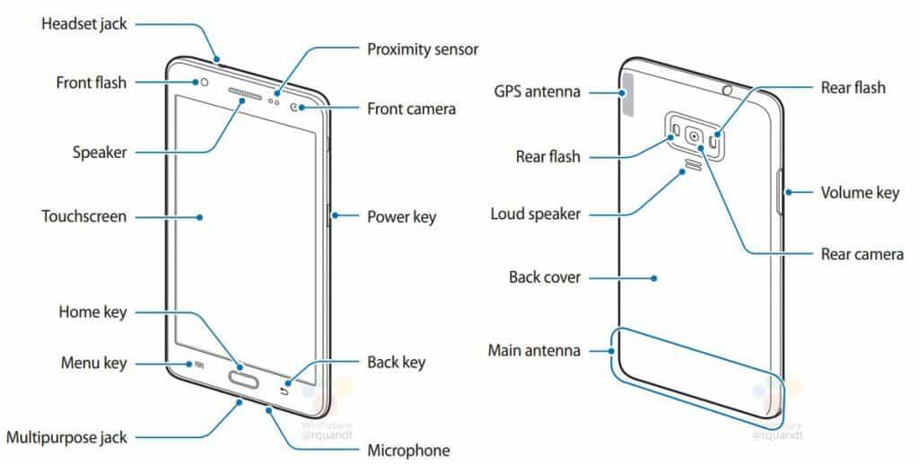 samsung-z4-dual-led-flash-1024x517 gelekte Samsung Z4 handleiding onthuld dubbele LED flitser
