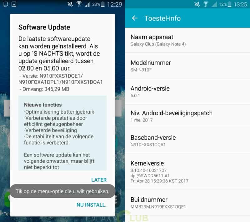 galaxy-note-4-edge-update-mei-patch-n910fxxs1dqa1 Galaxy Note 4 en Note Edge updates brengen mei security patch