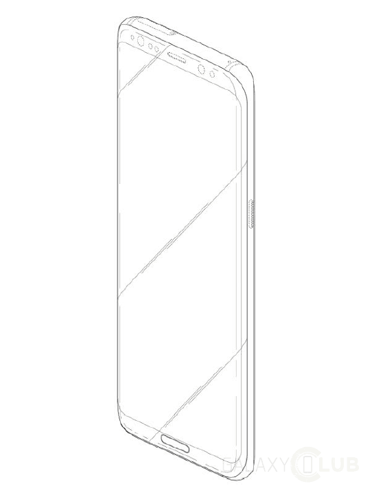 galaxy-s8-met-home-key-design-patent-1 Curieus: Samsung patenteert design Galaxy S8.... met fysieke Home-knop
