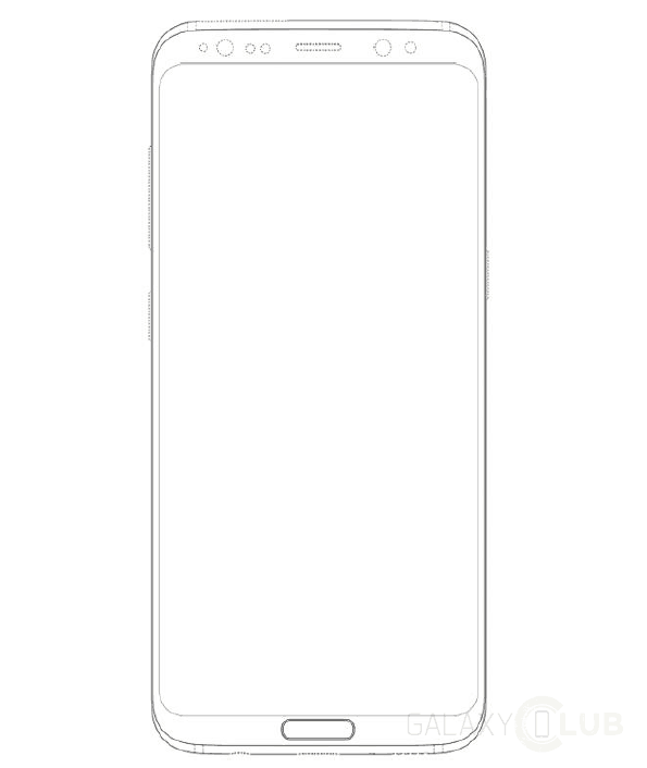 galaxy-s8-met-home-key-design-patent-2 Curieus: Samsung patenteert design Galaxy S8.... met fysieke Home-knop