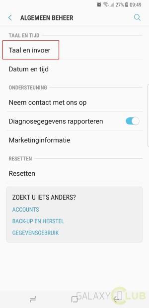 taal toevoegen whatsapp