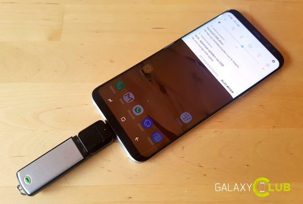 galaxy-s8-tip-otg-usb-stick-aansluiten-1024x688 Galaxy S8 (Plus) tip: doe meer met je USB-C OTG adapter