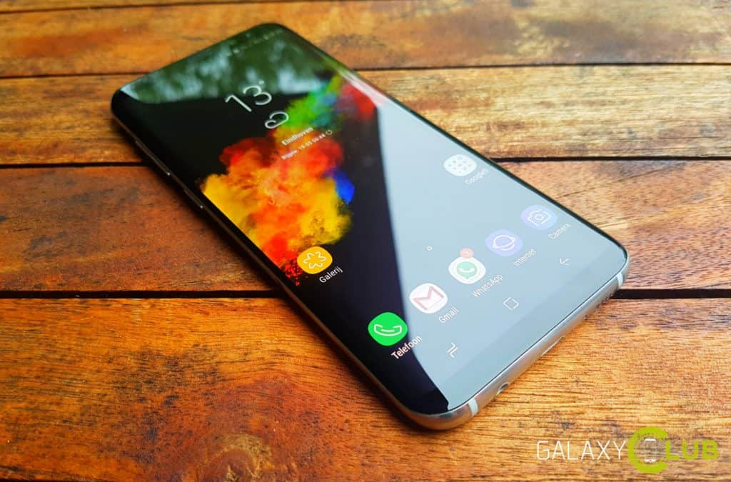 Samsung Galaxy S8 review beeldscherm