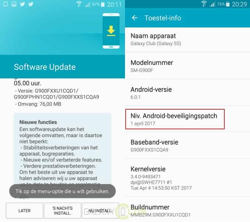 unbranded-galaxy-s5-april-patch-g900fxxs1cqa9 Flink wat nieuwe beveiligingsupdates: Galaxy Note 4 & Edge, Galaxy S5 (Plus), en meer