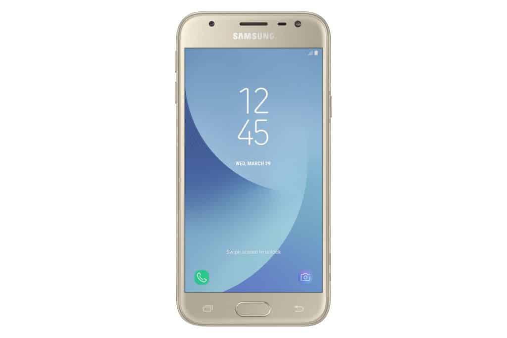 galaxy-j3-2017-goud-voor-1024x683 Samsung lanceert Galaxy J (2017) serie officieel, deze zomer te koop
