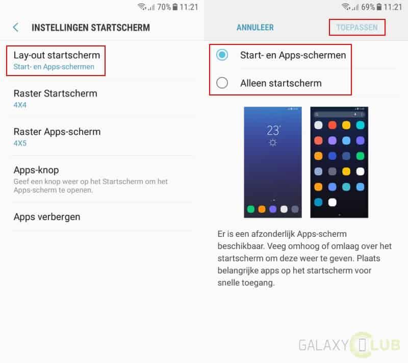 galaxy-j5-2017-tip-geen-apps-scherm-hide-app-drawer Samsung Galaxy J5 (2017) tips en trucs: haal alles uit je nieuwe J-serie