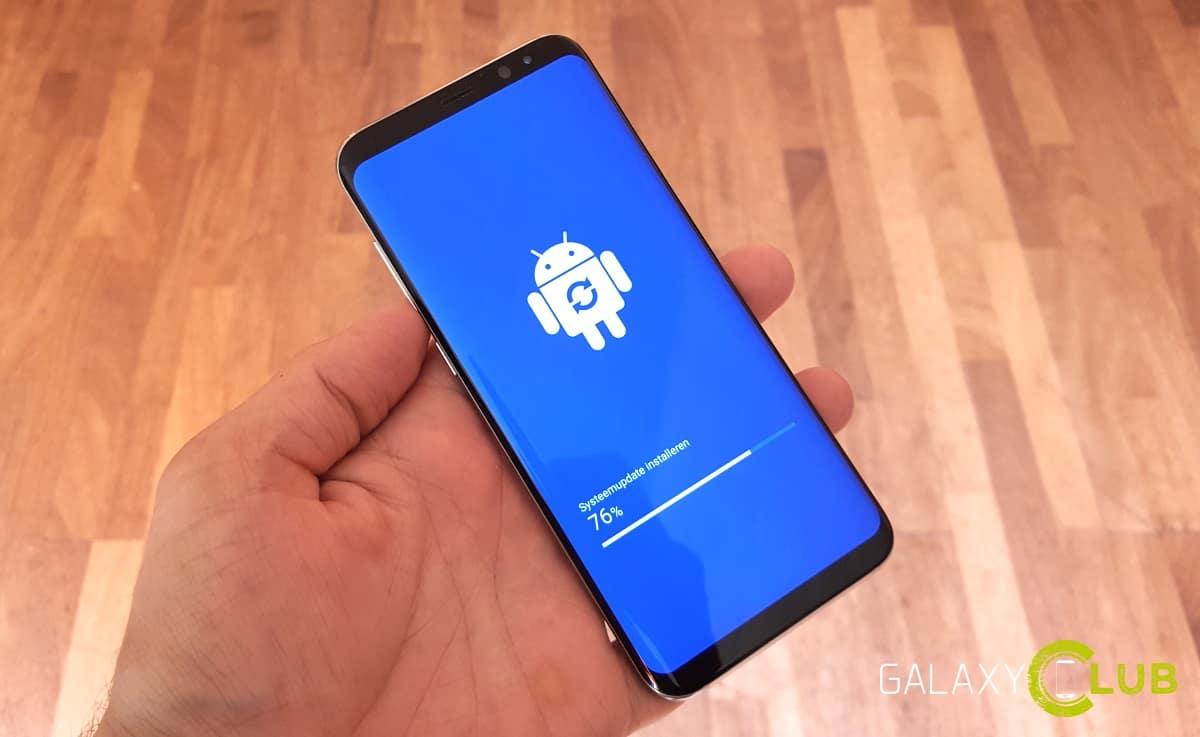 galaxy-s8-update Galaxy S8 update brengt september firmware met Blueborne fix
