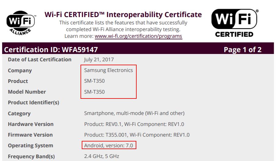 galaxy-tab-a-android-7-update-wifi Android 7.0 Nougat update in de startblokken voor: Galaxy A3 (2017), Galaxy J7 (2016), en de Galaxy Tab A 8.0 (2015)
