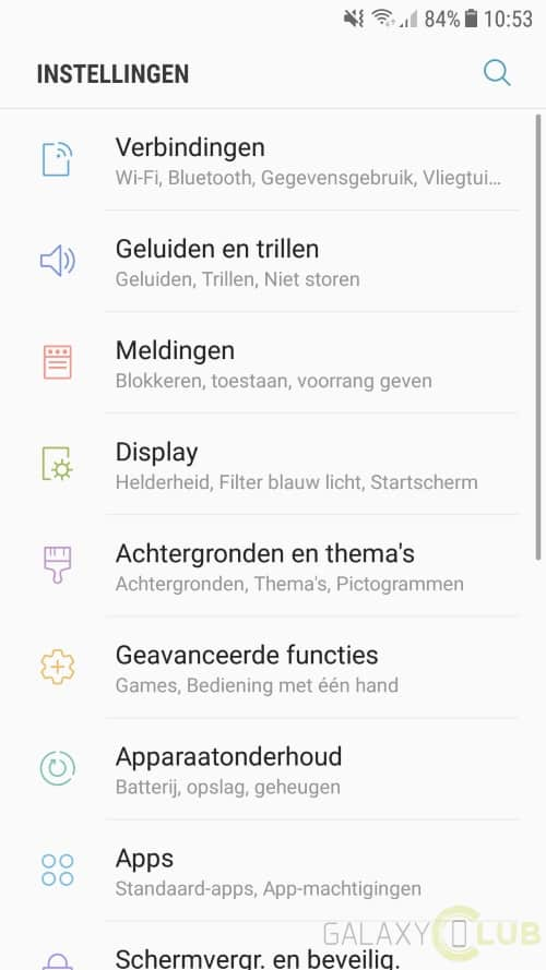 galaxy-a5-2017-android-7-0-preview-1 Galaxy A5 (2017) Android 7.0 Nougat update van start (preview, nog niet in NL)