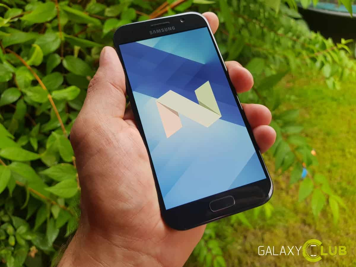 galaxy-a5-2017-android-7-0-update-preview Galaxy A5 (2017) Android 7.0 Nougat update in Nederland beschikbaar
