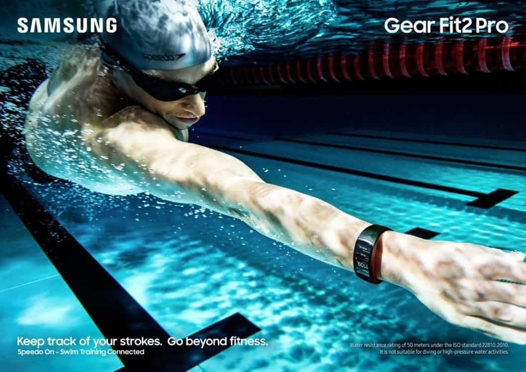speedo Samsung kondigt Gear Sport, Fit2 Pro en IconX 2018 aan