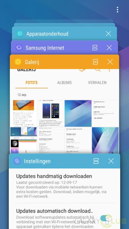 galaxy-a3-2017-android-nougat-preview-11 Galaxy A3 (2017) Android 7.0 Nougat update nu in Nederland