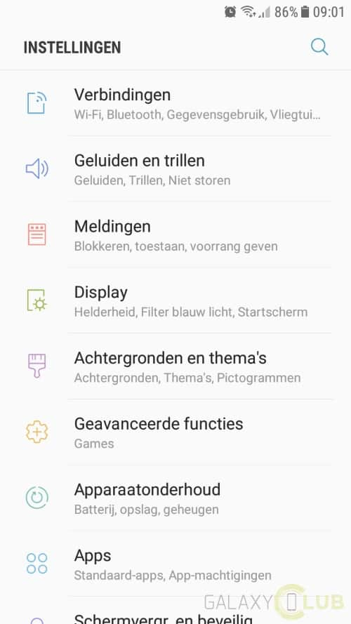 galaxy-a3-2017-android-nougat-preview-12 Galaxy A3 (2017) Android 7.0 Nougat update nu in Nederland