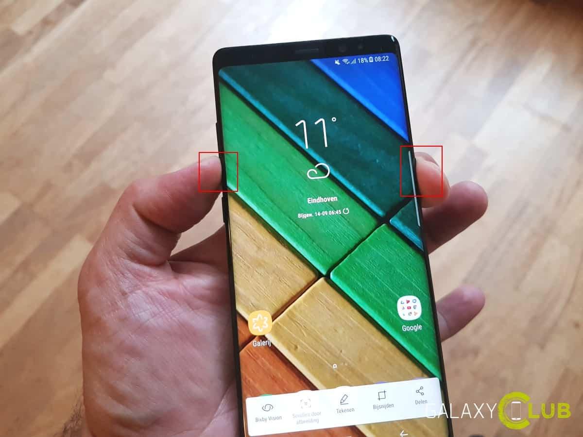 Galaxy Note 8 Screenshot Maken Zo Doet Je Dat
