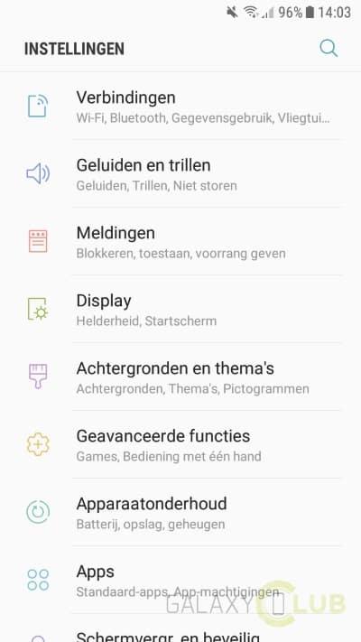 galaxy-j5-2016-android-7-1-nougat-update-screenshot-3 Samsung Galaxy J5 (2016) Android 7.1.1 Nougat update nu ook in Nederland