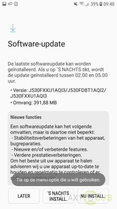 galaxy-j5-2017-update-augustus Galaxy J5 (2017) update brengt Blueborne fix, augustus patch