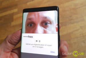 galaxy note 8 review beveiliging