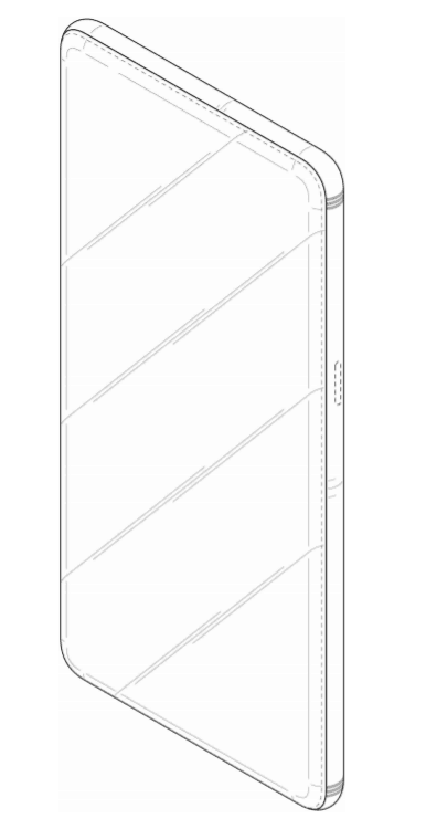 galaxy-full-screen-design-patent-1 Samsung patenteert meer designs voor telefoon met front-vullend display en metalen body