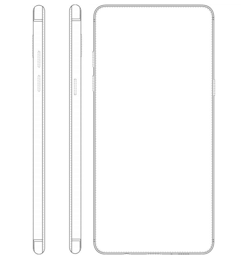 galaxy-full-screen-design-patent-3 Samsung patenteert meer designs voor telefoon met front-vullend display en metalen body