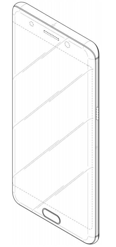 galaxy-full-screen-design-patent-4 Samsung patenteert meer designs voor telefoon met front-vullend display en metalen body