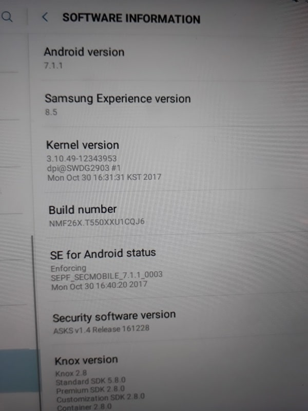 galaxy-tab-a-9-7-2015-android-7-1-nougat-update-2 Galaxy Tab A 9.7 uit 2015 krijgt Android 7.1.1 Nougat update in Nederland (update)