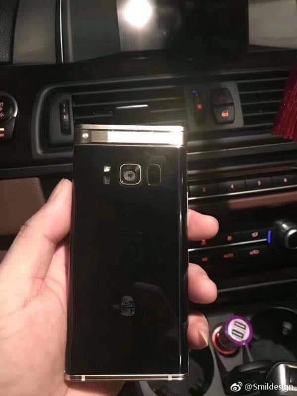 sm-w2018-3 Samsung SM-W2018 te zien op foto's: luxe klaptelefoon voor China