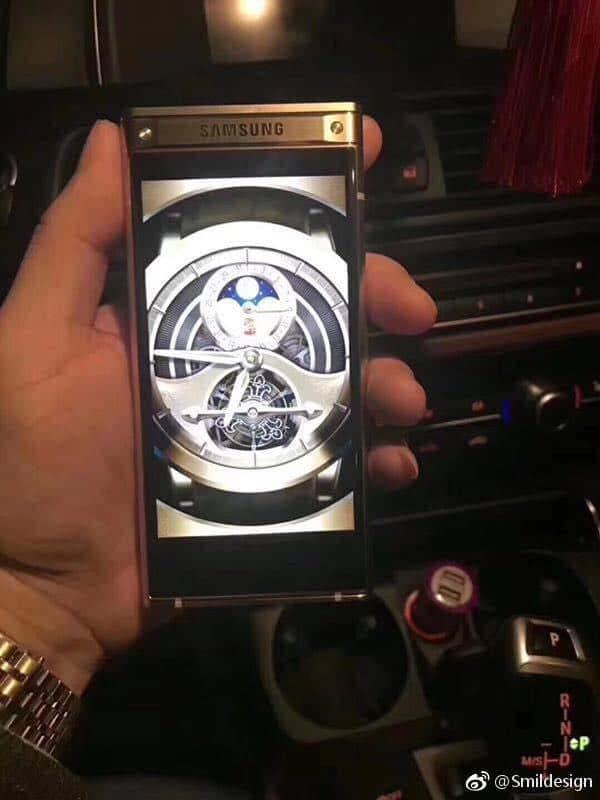 sm-w2018-5 Samsung SM-W2018 te zien op foto's: luxe klaptelefoon voor China