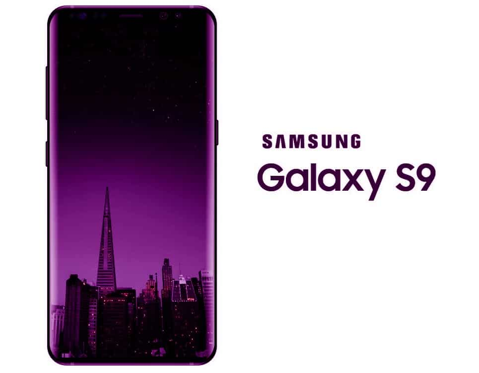 samsung s9 paars