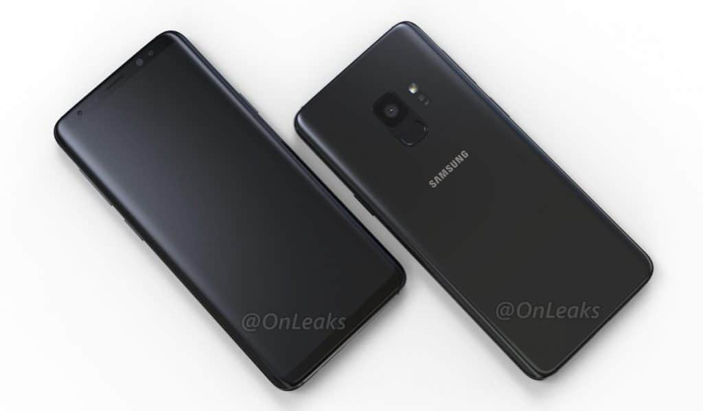 samsung-galaxy-s9-renders-accu-1024x599 Introductiedatum Samsung Galaxy S9 bevestigd door chef