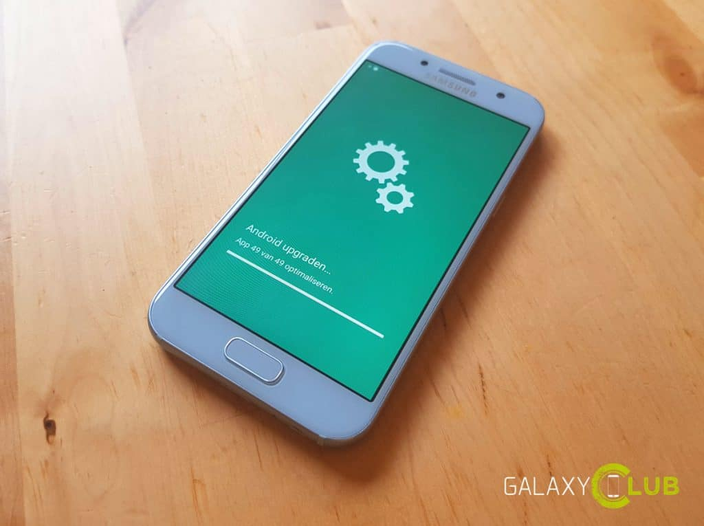 Galaxy A3 2017 Android 80 Oreo Update Nederland