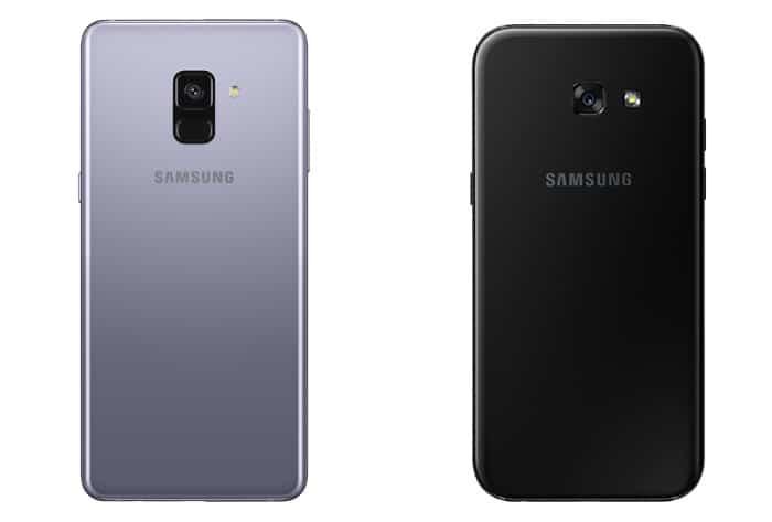 galaxy-a8-versus-a5-2017-afmetingen-vergelijking Vergelijking: Samsung Galaxy A8 (2018) versus Galaxy A5 (2017)
