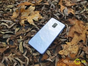 Galaxy A8 review design achter