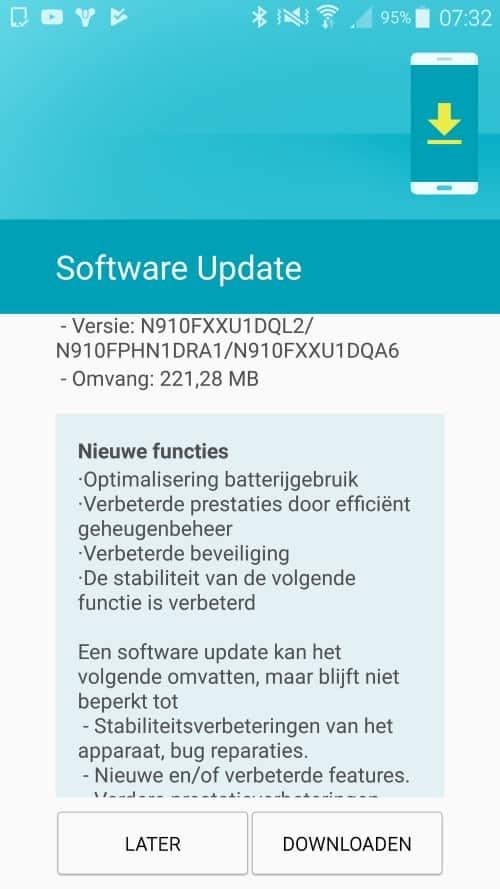 galaxy-note-4-update-januari-2018 Nieuwe update Galaxy Note 4 arriveert (update 23 feb.: unbranded)