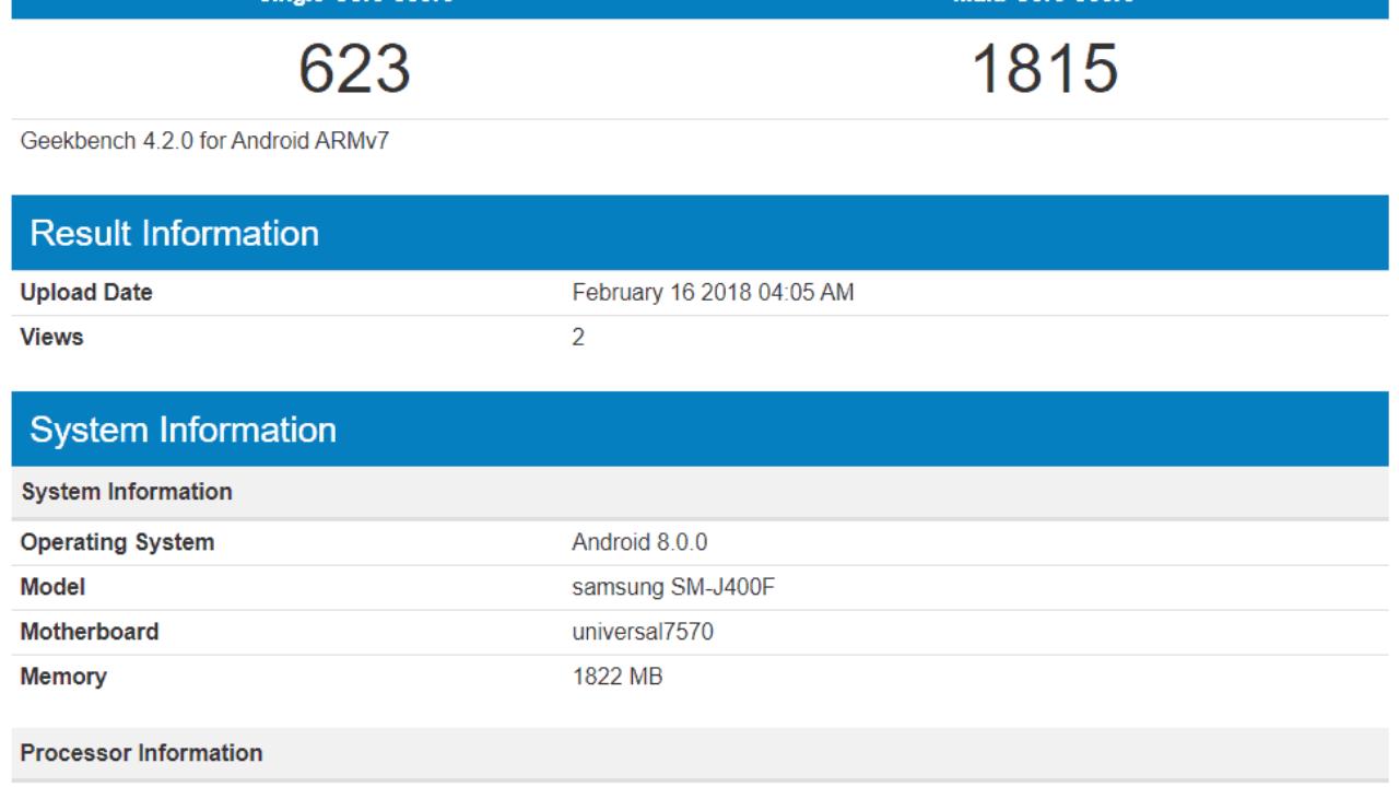 Firmware Samsung J400f