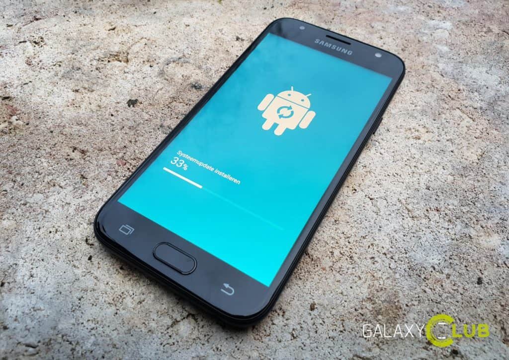 galaxy j3 2017 android 8.0 update