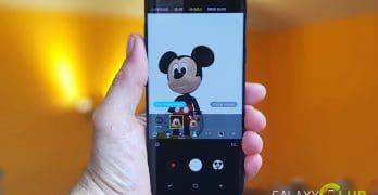 Galaxy S9 AR Emoji tip: Mickey Mouse & Friends installeren