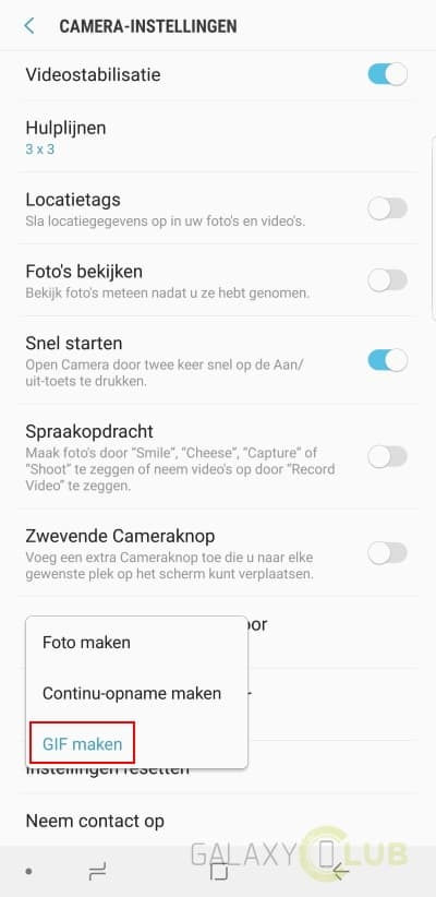 galaxy-s9-camera-gif-maken-2-1 Galaxy S9 (Plus) camera tips: zo maak je de mooiste foto's