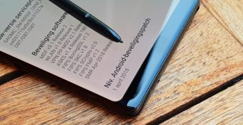 Galaxy Note 8 update april rolt uit in Nederland en België